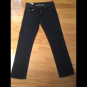 Men's Banana Republic slim fit dark wash jeans